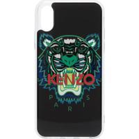 Kenzo Capa Para Iphone X Com Estampa De Logo - 99 Black