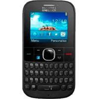 Celular Alcatel Ot-3075 3G Tribe - Cinza - Bluetooth - Mp3 - Rádio Fm