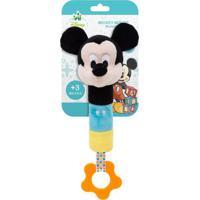 Pelúcia De Atividades - Disney - Mickey Mouse Com Buzininha - Buba