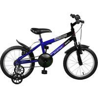 Bicicleta Master Bike Aro 16 Masculina Free Boy Azul