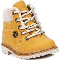Botina Infantil Para Bebê Menino - Amarelo