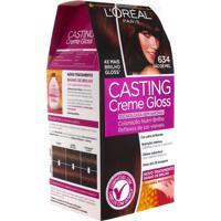 Coloração Permanente Casting Creme Gloss N° 634 Pão De Mel L'Oréal 1 Unidade