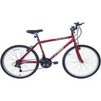Bicicleta Aro 26 Em Aço Mtb Xnova Optimus 18 Marchas - Unissex