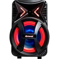 Caixa De Som Amplificadora Amvox Aca 189 Montanha, 189 Watts, Bluetooth, Usb
