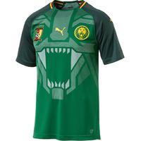 e1fed7286ee19 Netshoes  Camisa Seleção Camarões Home 2018 S N° - Torcedor Puma Masculina  - Masculino