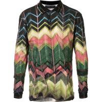 Y/Project Zig-Zag Pattern Polo Shirt - Estampado