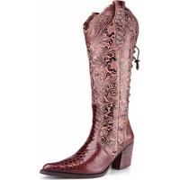Bota Capelli Country Texana Boots Marrom