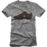 Camiseta Reserva Chuteira Masculina - Masculino-Cinza
