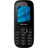 Celular Multilaser Up 3G Com 2 Chips Bluetooth Mp3 3G Mms P9017 Preto