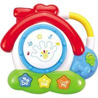 Brinquedo Interativo - Casinha Musical - Do Ré Mi - Minimi