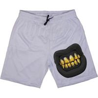 Bermuda Skull Clothing Dente Dourado Masculina - Masculino