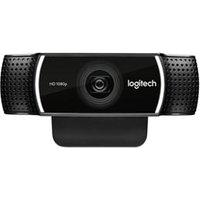 Câmera Webcam Full Hd Pro Stream Com Tripé Preto - Logitech - C922