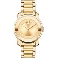 Relógio Movado Feminino Aço Dourado - 3600323