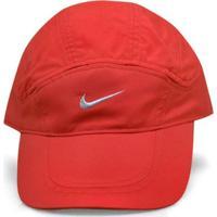 Bone Unisex Nike 234921-602 Fit Spiros Running Hat Vermelho