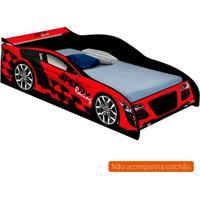 Cama Carro Speed Infantil Vermelho