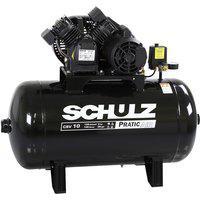 Compressor De Ar Schulz Pratic Air Pistão Csv10 2Cv 60Hz 127V