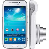 "Smartphone Samsung Galaxy S4 Zoom C1010 - 3G - Wi-Fi - 16Mp - 8Gb - Gps - Tela 4.27"" - Android 4.2 - Branco"