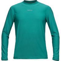 Camiseta Active Fresh Curtlo Ml - Masc. - Masculino-Verde