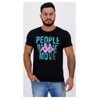 Camiseta Kappa People Move Preta
