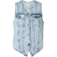 Stella Mccartney Colete Jeans - Azul