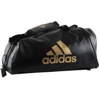 Bolsa Adidas Training 2 In 1 Bag Wako 50L Preto/Dourado