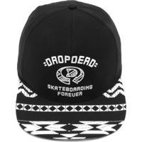 Boné Drop Dead Snapback Forever Preto 447d0589829