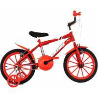 Bicicleta Infantil Aro 16 Com Adesivo De Brinde - Masculino