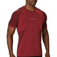Camiseta Lupo Seamless Masculina - Masculino-Vermelho