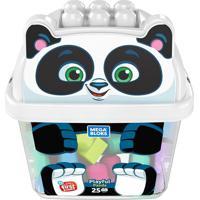Mega Bloks Balde De Animais Panda - Mattel