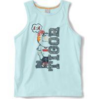 Camiseta Regata Tigor T. Tigre Azul