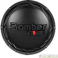 """Subwoofer - Bomber - One - 12"""" Polegadas 200W 4 Ohms - Bobina Simples - Cada (Unidade) - 1.04.082"""