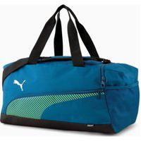 Bolsa Puma Fundamentals 077289-02, Cor: Azul Escuro/Verde, Tamanho: Unico