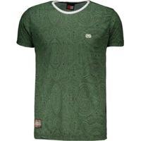 Camiseta Ecko Masculina - Masculino-Verde