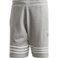 Short Adidas Outline Originals Cinza - Cinza - Masculino - Dafiti