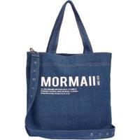 Bolsa Mormaii Shopping Bag Jeans Feminina - Feminino