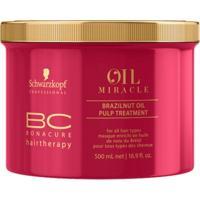 Schwarzkopf Bc Bonacure Oil Miracle Brazilnut - Máscara De Tratamento 500Ml - Unissex
