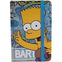 Caderno De Anotações Zona Criativa Bart Simpson