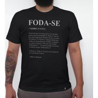Foda-Se - Camiseta Clássica Masculina