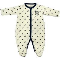 Macacão Longo Bebê Tilly Baby Cavalinho - Masculino
