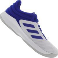 Tênis Adidas Pro Spark 2018 Low - Masculino - Azul/Branco