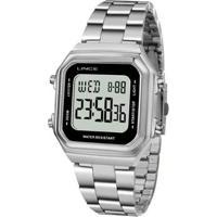 Relógio Lince Sdm615L Bxsx Digital Feminino - Feminino-Prata