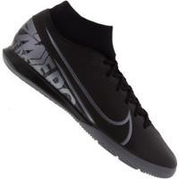 Chuteira Futsal Nike Mercurial Superfly 7 Academy Ic - Adulto - Preto/Cinza