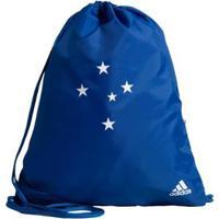 Bolsa Ginastica Cruzeiro Adidas - Unissex-Azul
