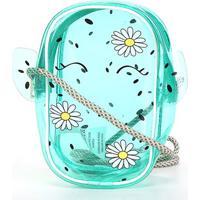 Bolsa Infantil Pagani Mini Bag Cacto Feminina - Feminino-Verde
