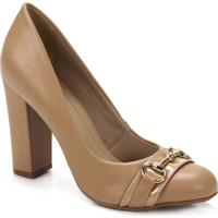 Sapato Salto Feminino Lara - Nude