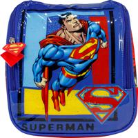 Lancheira Superman La32225Sm Vermelha