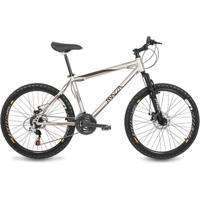 Bicicleta Mazza Bikes Fire - Aro 26 Disco - Shimano 24 Marchas - Mzz-600 - Unissex
