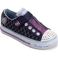 71b59bf51ee Netshoes  Tênis Infantil Skechers Shuffles Sparkly Jewels - Feminino