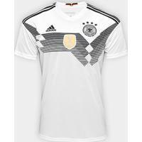 Camisa Seleção Alemanha Home 2018 S/N° Torcedor Adidas Masculina - Masculino