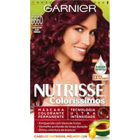 Tintura Garnier Nutrisse Coloríssimos 6660 Louro Escuro Ultra Vermelho - Unissex-Incolor
